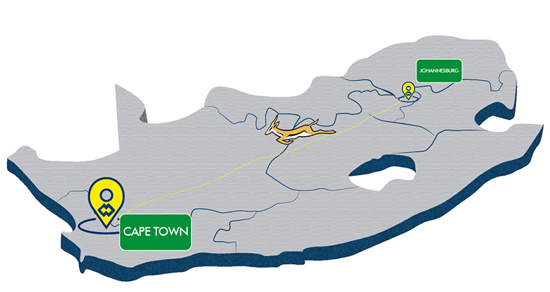 WAM South Africa Moving To Cape Town